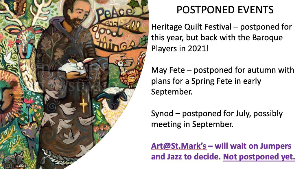 postponed events done march 2020